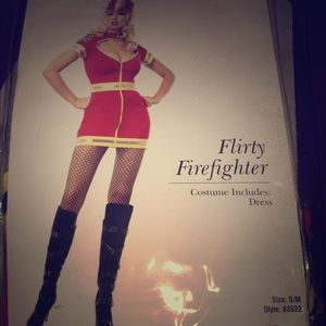 Sexy firefighter costume. Originally $50